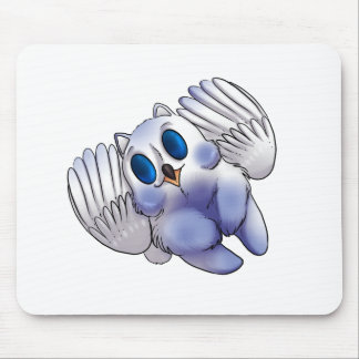 Wintery Gryphon Mouse Pad