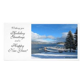 Wintery Idaho Scene Photo Card