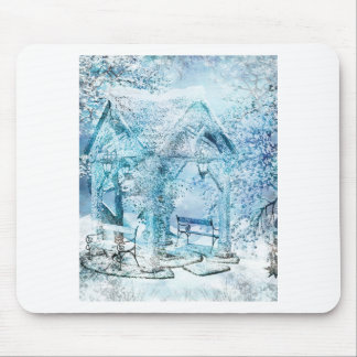 WINTERY MOUSE PAD
