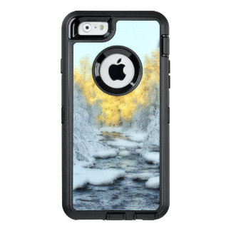 Wintery Stream OtterBox Defender iPhone Case