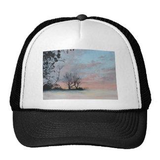 Wintery Sunrise Mesh Hat