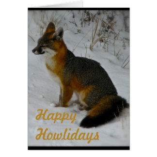 Wintery Wildlife Card