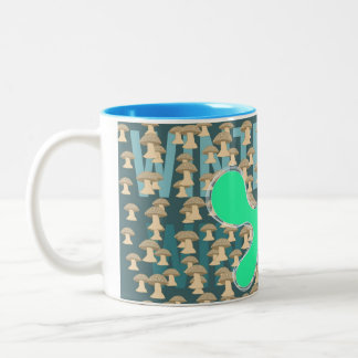 Winthrope, The Mushroom Boy Two-Tone Coffee Mug