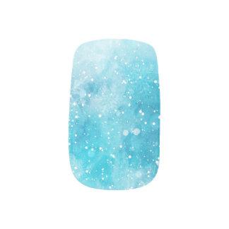 Wintry Mix Minx Nail Art