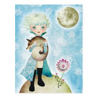 Wintry Prince postcard