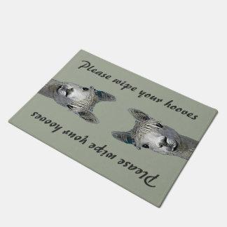 Wipe Your Hooves - Alpaca Doormat