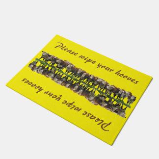 Wipe Your Hooves - Cattle Doormat