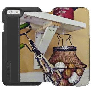 Wire Basket Of Eggs And Egg Beater Incipio Watson™ iPhone 6 Wallet Case