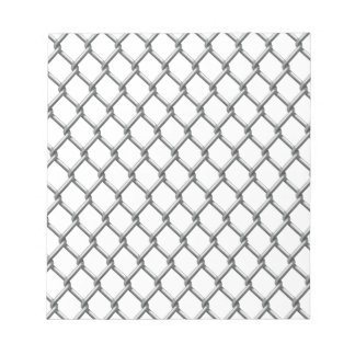 Wire fence seamless tile scratch pads