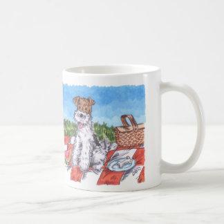 Wire Fox Summer 11oz White Mug