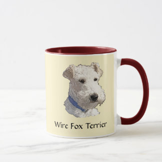 Wire Fox Terrier Art Mug