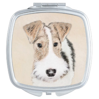Wire Fox Terrier Compact Mirror