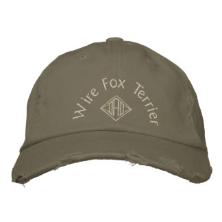 Wire Fox Terrier Dad Gifts Embroidered Hat