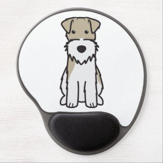 Wire Fox Terrier Dog Cartoon Gel Mouse Pad