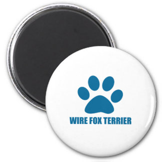 WIRE FOX TERRIER DOG DESIGNS MAGNET