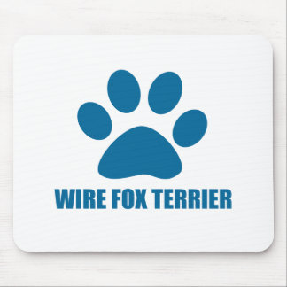 WIRE FOX TERRIER DOG DESIGNS MOUSE PAD