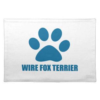 WIRE FOX TERRIER DOG DESIGNS PLACEMAT