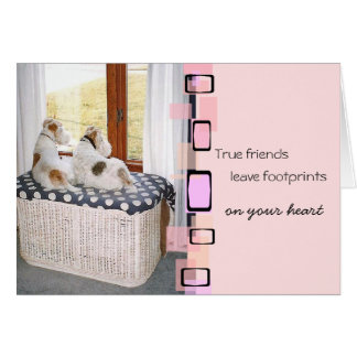 Wire Fox Terrier Greeting Card
