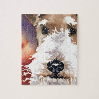 Wire Fox Terrier Jigsaw Puzzle
