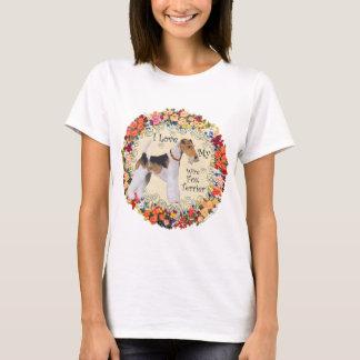 Wire Fox Terrier Love T-Shirt