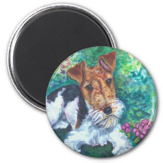 Wire Fox Terrier Magnets