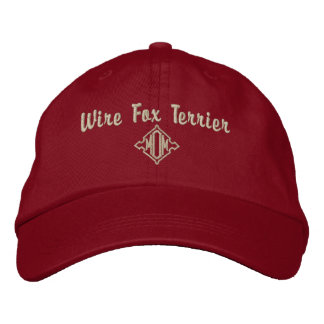 Wire Fox Terrier Mom Gifts Embroidered Hats