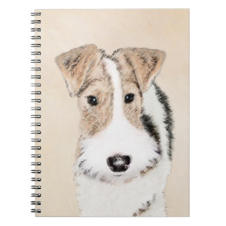 Wire Fox Terrier Notebooks