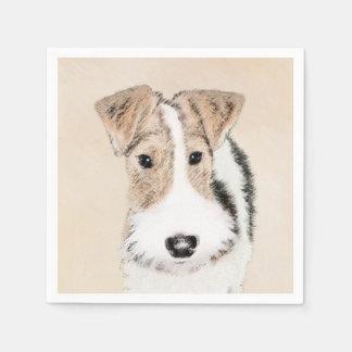 Wire Fox Terrier Paper Napkins