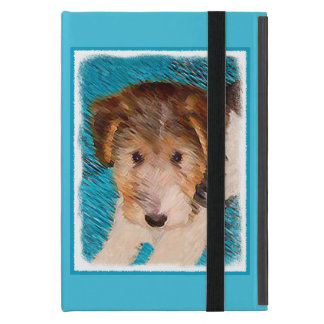 Wire Fox Terrier Puppy Painting - Original Dog Art iPad Mini Case