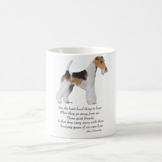 Wire Fox Terrier Rainbow Bridge Coffee Mug