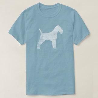 Wire Fox Terrier Silhouette T-Shirt