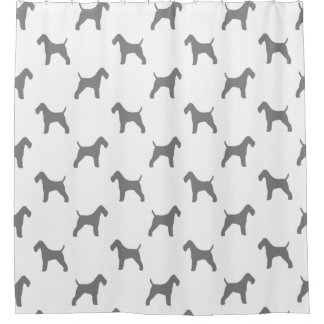Wire Fox Terrier Silhouettes Pattern