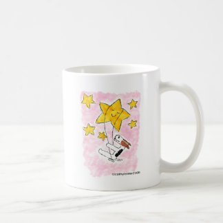 Wire fox terrier swingin' on a star coffee mug