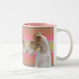 Wire Fox Terrier Two-Tone Coffee Mug