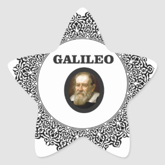wire frame galileo star sticker