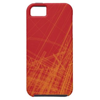 Wire Frame Structures iPhone 5 Cover