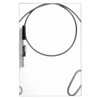 Wire leader vector illustration clip-art fishing dry erase board