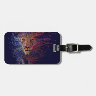Wired Lion Luggage Tag