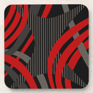 Wired Red Tote Bag Coasters