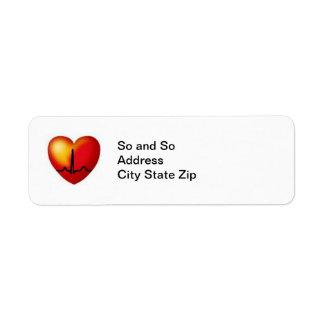 WIRED Return address labels