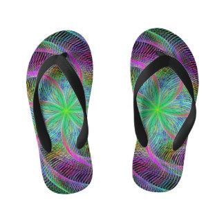 Wired septopus kid's flip flops