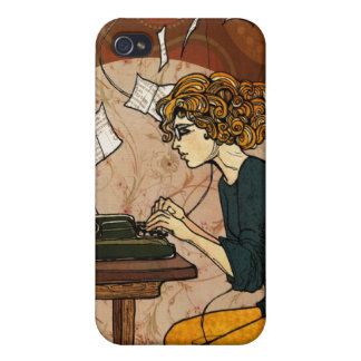 Wired to Write iPhone 4 Cover