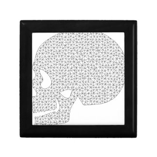 Wireframe Skull Gift Box