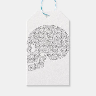 Wireframe Skull Gift Tags