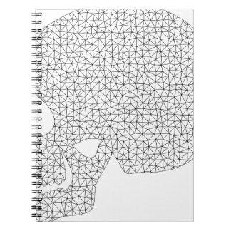 Wireframe Skull Notebooks