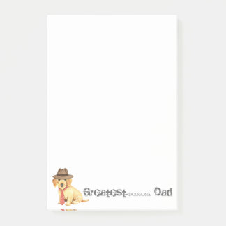 Wirehaired Dachshund Dad Post-it Notes