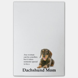 Wirehaired Dachshund Mom Post-It Notes