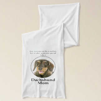 Wirehaired Dachshund Mom Scarf