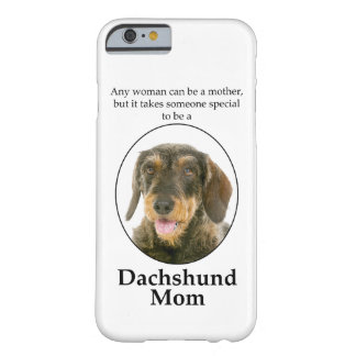 Wirehaired Dachshund Mom Smartphone Case