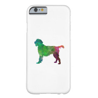 Wirehaired Pointing Griffon Korthals in watercolor Barely There iPhone 6 Case